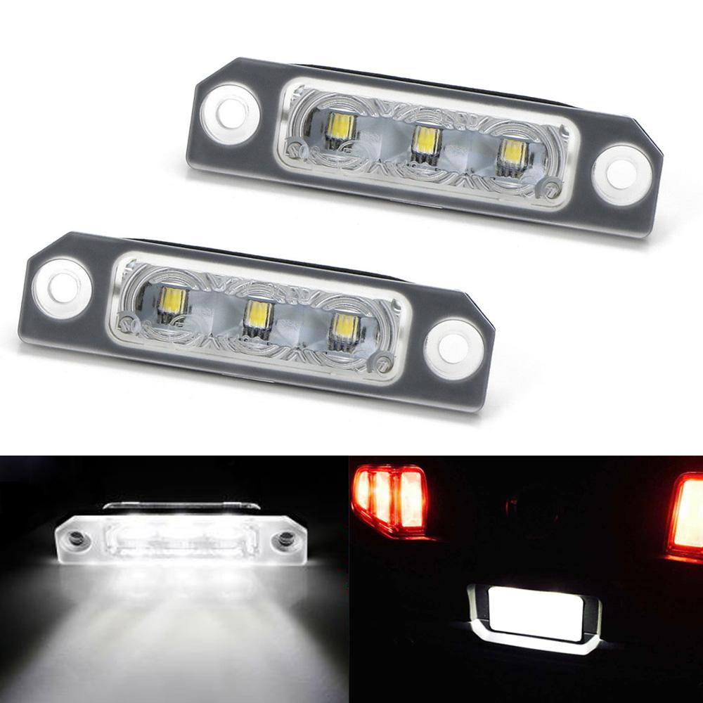 MKT 3-White Osram LED License Plate Light FOR LINCOLN MKZ ZEPHYR MKX MKS
