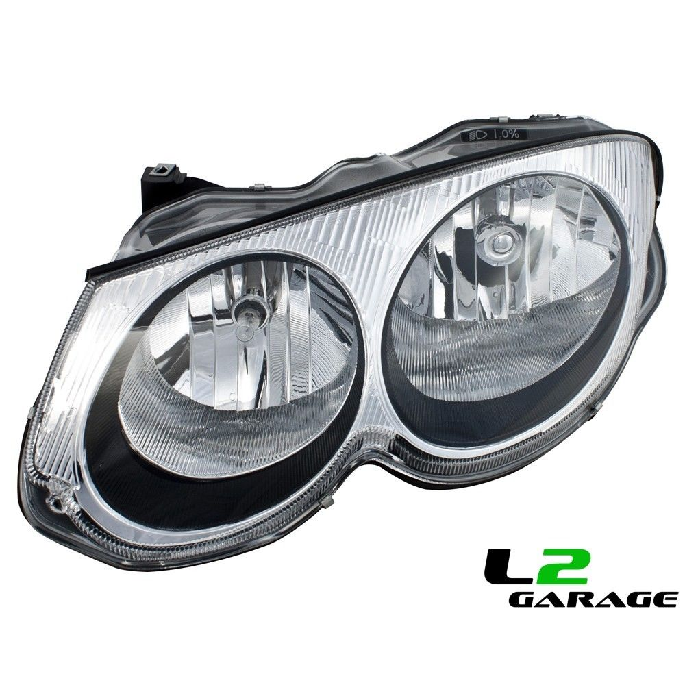 Details About Fits Chrysler 99 04 300m Headlight Head Lamp W O Leveling Left Driver Side